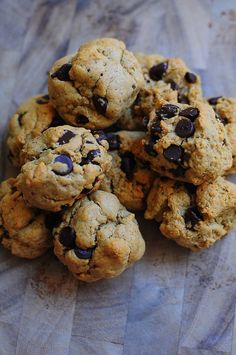 Gluten Free Chocolate Chip Cookies by The Scent of Oranges & 6 other Healthy Snacks for After School