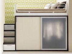 Soluzioni Armadio di Design per la Camera da Letto Piccola  http://benedettimobili.com/