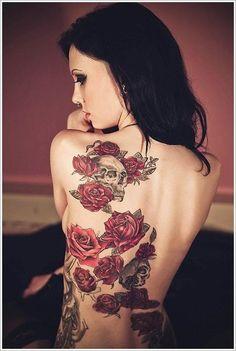 Tatuagem de rosa 19