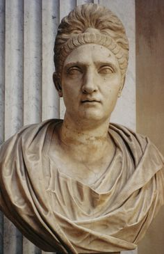 Pompeia Plotina Claudia Phoebe Piso (d. 121/122) was a Roman Empress and wife of Roman Emperor Trajan.