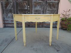 French Provincial Henry Link Corner Desk and Chair Los Angeles by HouseCandyLA, $150.00