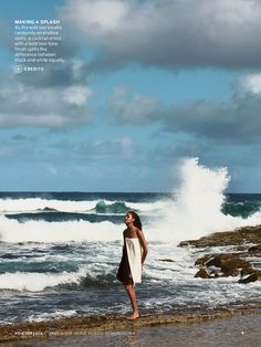 SMOOTH SAILING: JOAN SMALLS BY PATRICK DEMARCHELIER FOR US VOGUE APRIL 2013