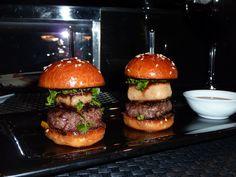 Le Burger at L'Atelier de Joel Robuchon Las Vegas