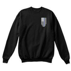 Thin Blue Line Crew Neck Sweatshirt