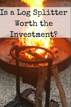 Is a Log Splitter Worth the Investment? A log splitter is a good investment for those who enjoy building their own campfires with ease, leaving more time to relax around the fire. Gifts For Campers, Rv Campers, Happy Campers, Cool Camping Gadgets, Log Splitter, Camper Hacks, Rv Organization, Campfire Food, Rv Accessories