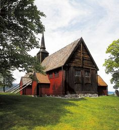Kvernes Stave Church   Kvernes was originally an ancient holy site, where the heathen Norsemen came to pray to their gods and bury their dead.