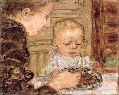 Grandmother and Child - Pierre Bonnard 1894