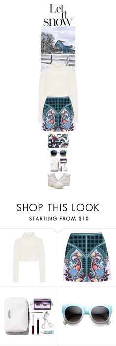 """""""Let it snow..."""" by thehamptonsgirl ❤ liked on Polyvore featuring Roberto Cavalli, Mary Katrantzou and Timberland"""