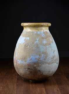 Antique Turkish #Pottery #Urn #Houston #Mecox #interiordesign #MecoxGardens #furniture #shopping #home #decor #design #room #designidea #vintage #antiques #garden