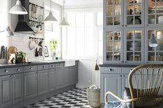 ikea grey kitchen - Google Search