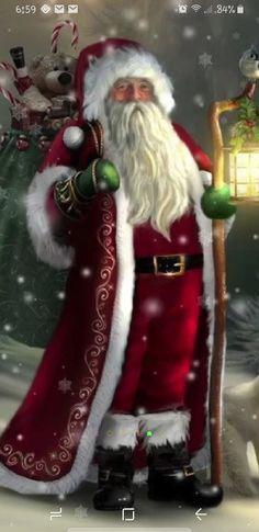 'The Christmas Traveler' iPhone Case by Tammara The Christmas Traveler iPhone 7 Cases Christmas Scenes, Noel Christmas, Father Christmas, Winter Christmas, Xmas, Christmas Tables, Nordic Christmas, Modern Christmas, Christmas Cookies