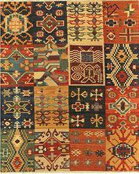 Sunrise Flatweaves Rug Collection - Samad - Hand Made Carpets