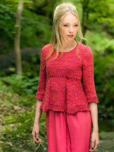 Louisa Harding knitting patterns, Louisa Harding Harmony, Fitzgerald - Two Colour Sweater, from Laughing Hens
