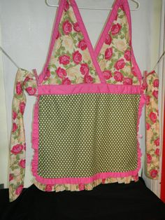 Apron  Vintage Meets Retro  Adorable One of by TeriClothCreations, $48.00