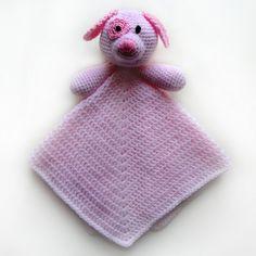 Dog Security Blanket - PDF Crochet Pattern. $4.95, via Etsy.