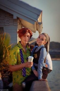 Disney Cosplay Zootopia cosplay (that Nick tho ) Disney Couple Costumes, Cute Couples Costumes, Cute Group Halloween Costumes, Couples Cosplay, Halloween Kostüm, Cosplay Outfits, Halloween Outfits, Woman Costumes, Adult Costumes