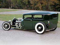 "hot rod fords | Low-Boy: Hot rod acanalado (chanelled). Básicamente el ""Chanelled ..."