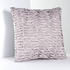 Simply Vera Vera Wang City Shadow Pleated Decorative Pillow