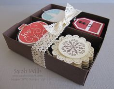 boxoftags - great gift for friends - only give them at Thanksgiving so they can use for Christmas.