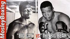 Yes, brings you this 1960 Heavyweight Slugfest; Sonny Liston had been campaigning for a sho. Heavyweight Boxing, Boxing Fight, Big Bear, History Facts, Big Cats, Kos, Youtube, Baseball Cards, Boxing