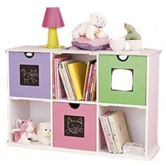 Deo's Kidz Shelve Unit Available at 5rooms.com Floating Nightstand, Floating Shelves, Kids Bedroom, Bedroom Decor, Kids Room Design, House Rooms, Room Inspiration, Interior And Exterior, Shelving