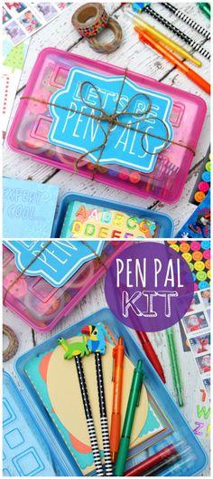 Pen Pal Kit Gift Idea - Every child needs one! #SendHallmark [ad]