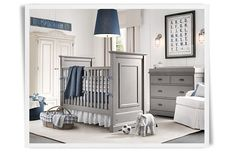 Rooms | Restoration Hardware Baby & Child Ivory tan blue and grey...looks nice together...