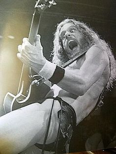 Ted Nugent - okay I was young.....deaf for days afterwards