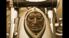 Found only on the front fender of an authentic Indian Motorcycle.