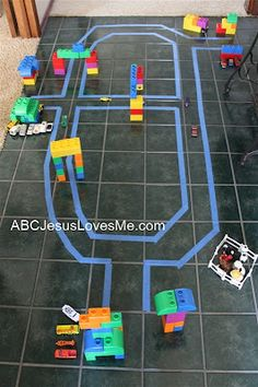Fun activity to do with kids... like the idea that you can recreate places like Machu Picchu, or use things like Roman landmarks to re-create a simplified city.