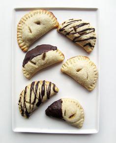 Happy Pretty Things: Chocolate Dipped Banana Empanadas