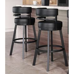 Swivel Armchairs For Living Room Counter Stools With Backs, Black Bar Stools, Swivel Counter Stools, Counter Height Bar Stools, Bar Counter, High Bar Stools, Island Stools, Stools For Kitchen Island, Kitchen Dinning