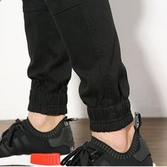 Spring Summer Mens Casual Ankle Banded Pants Feet Slim Haren Trousers at Banggood