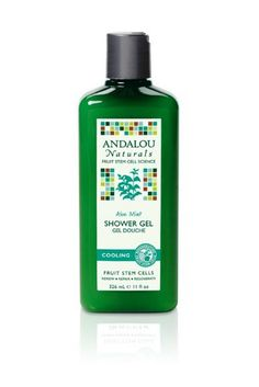 Andalou Naturals Cooling Shower Gel, Aloe Mint, 11 Ounce ** Click image to review more details. (This is an Amazon Affiliate link and I receive a commission for the sales)