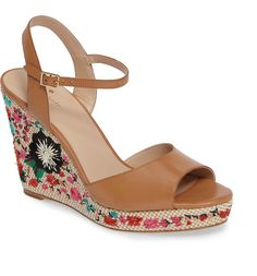 0e86f1433214 Main Image - kate spade new york jardin wedge sandal (Women) Wedge Shoes