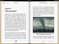 Tornadoes in the mountains? Surprisingly, yes! Check out a sneek peek in chapter 6 of iTornado Experience