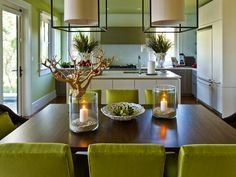 Open to both the kitchen and great room, the dining area offers a casual-chic space to congregate and enjoy the company of friends and family.  http://www.hgtv.com/dream-home/hgtv-dream-home-2013-dining-room-pictures/pictures/page-2.html?soc=dhpp