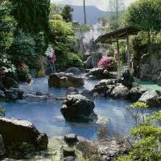 Beppu, Japan where I was born. I want to go back some day...