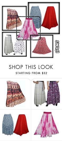 Bohemian Party Style Long skirts by mogulgallery-1 on Polyvore https://www.polyvore.com/cgi/set?id=236059822