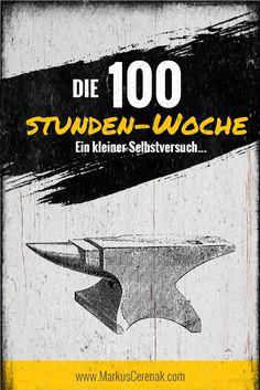 Markus Cerenak, Die 100, Self Development, Html, Motivation, Blogging, Movie Posters, Entrepreneurship, Life Planner