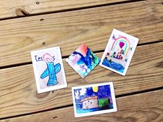 Looking for a clever way to display your kids' artwork around the house in a mess-free way? Art Magnets are the way to go!