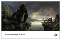 Pintura digital para King Kong.