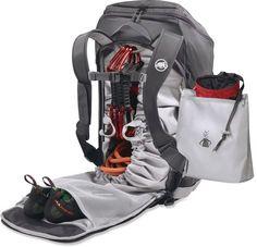 Mammut Neon Gear 45 Climbing Pack - Free Shipping at REI.com uno de los bolsos de mi sueños alpinismo morral escalamos?