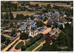 Frankreich - 23.SAINT ETIENNE DE FURSAC. Vue Générale Aérienne sur Le Chateau. Carte Dentelée.
