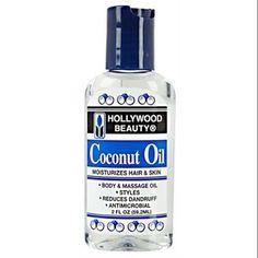 Hollywood Beauty Coconut Oil 2 oz