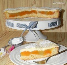 Meruňkový koláč s polevou - Recept