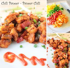 Spusht | Vegetarian Recipes, How-To Posts, Entertaining Ideas, Travelogue, and more: Favorite Appetizer in Indo-Chinese Cuisine? Chilli Paneer?
