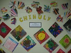 chihuly unit ideas