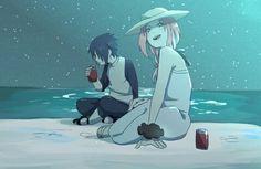 Imagem de sakura, sasusaku, and sasuke