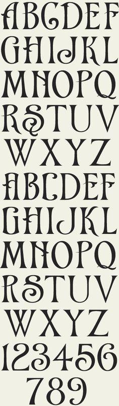 Letterhead Fonts / LHF Chapman / Victorian Fonts by Sabine Pangritz Creative Lettering, Lettering Styles, Hand Lettering, Greek Lettering, Gothic Lettering, Calligraphy Letters, Typography Letters, Typography Design, Arabic Calligraphy